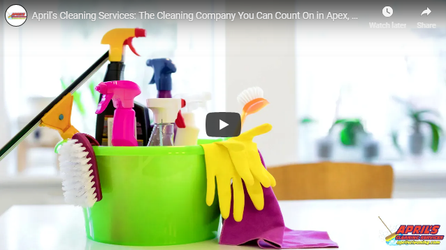 Let a Professional Cleaning Company Take Care of Your Home Cleaning Needs in Apex, NC